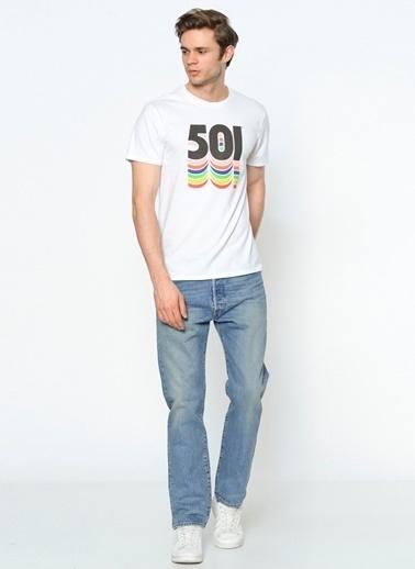 Levi's® Jean Pantolon | 501 - Regular Mavi